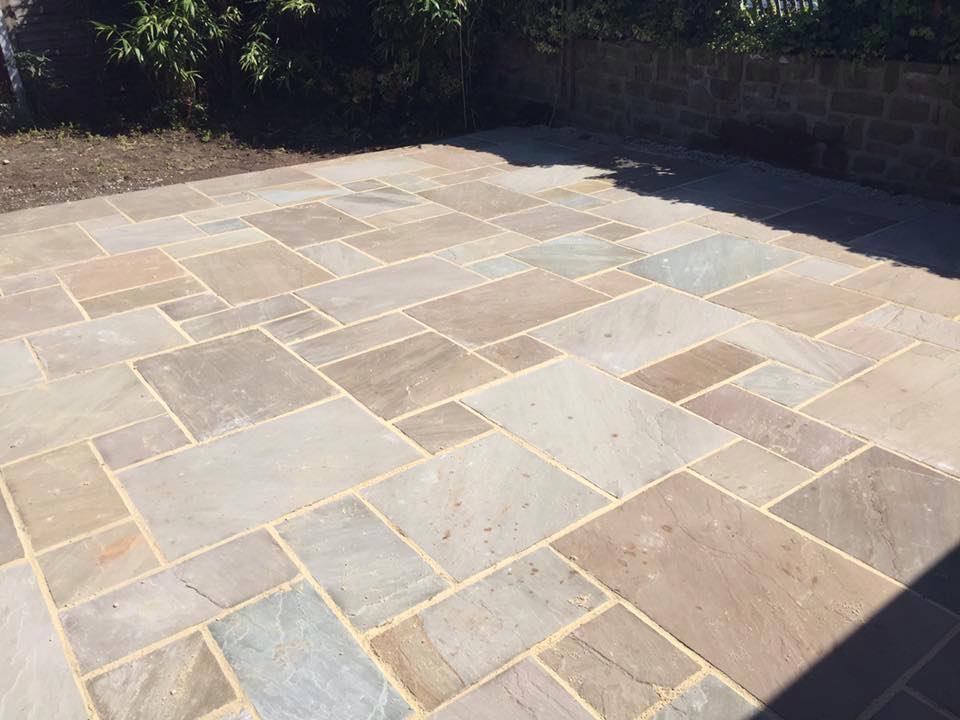 Slate Patio Slabs >> Patios, Paving & Indian Stone | Prinford Fencing