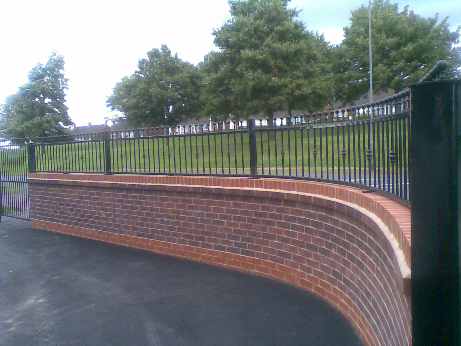 Wrought Iron Prinford Fencing